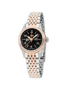 Oris Big Crown Black Dial Stainless Steel Ladies Watch 59476804334MB