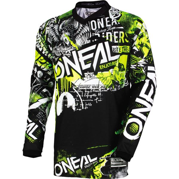 O'Neal Racing Element Attack Youth Motocross Jersey