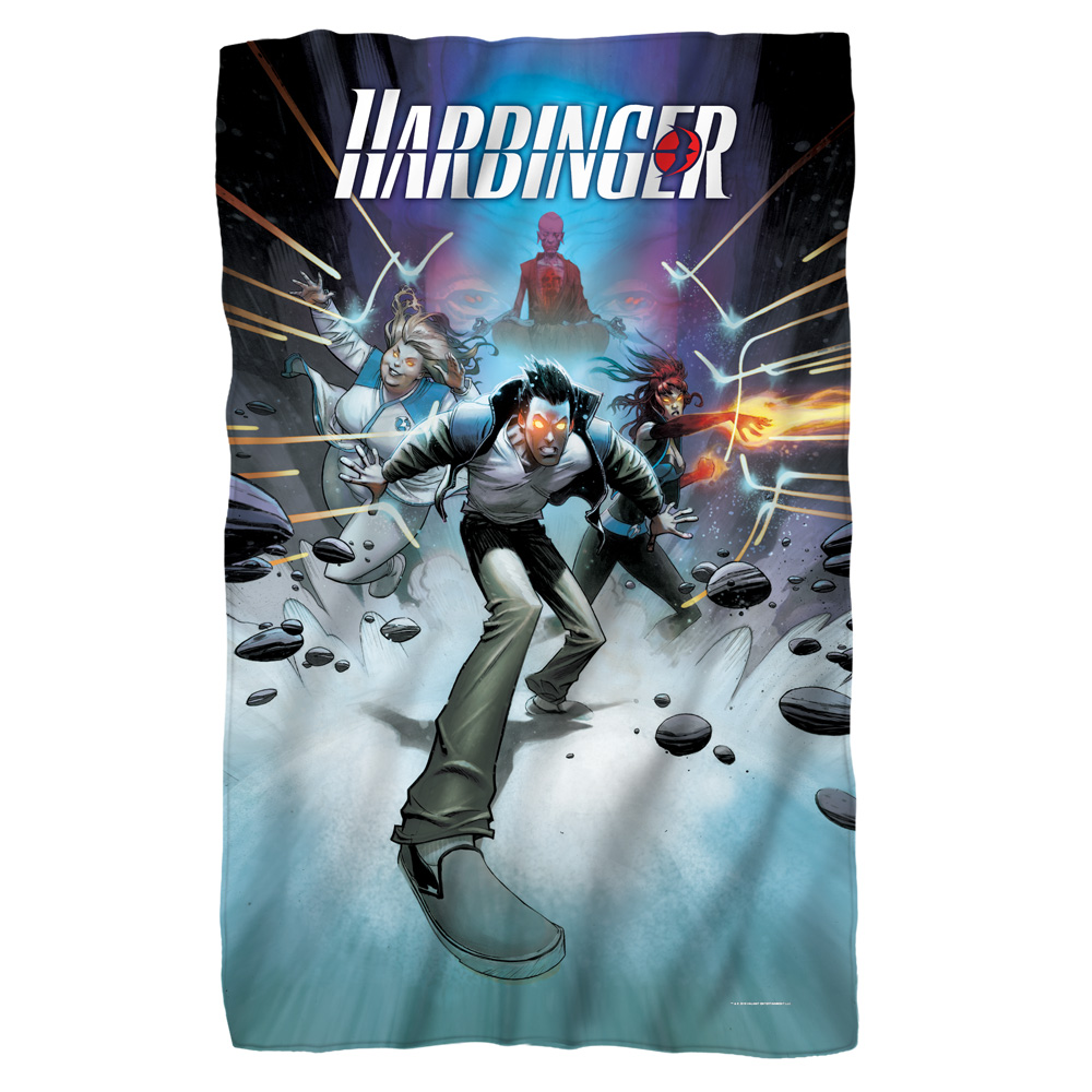 Trevco Harbinger Force Field Fleece Blanket White 48X80
