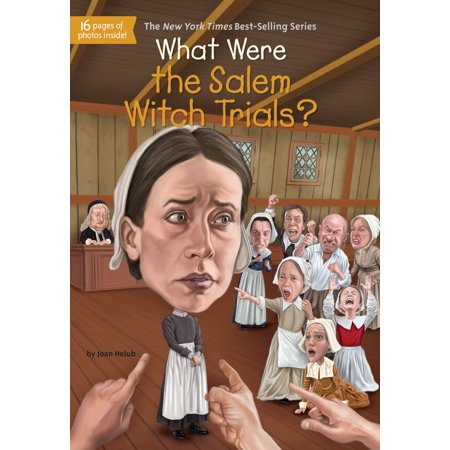 What Were the Salem Witch Trials? (Paperback) (Salem Witch Trials Halloween Party)