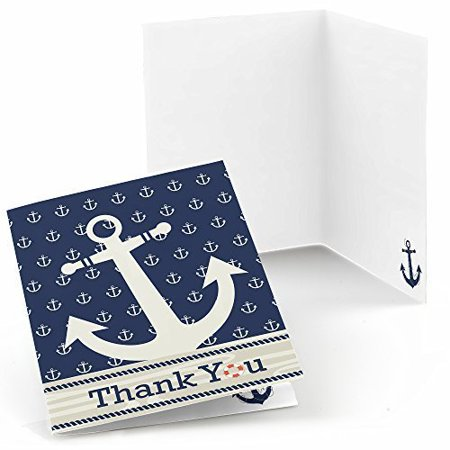Ahoy - Nautical - Baby Shower or Birthday Party Thank You Cards (8 count)](Baby Shower Thank You Gifts)