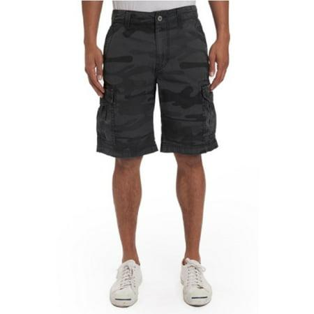 ec2c37e0e4 Unionbay - UNIONBAY MEN'S CARGO SHORTS (Color: Black Camo, Size 32) -  Walmart.com