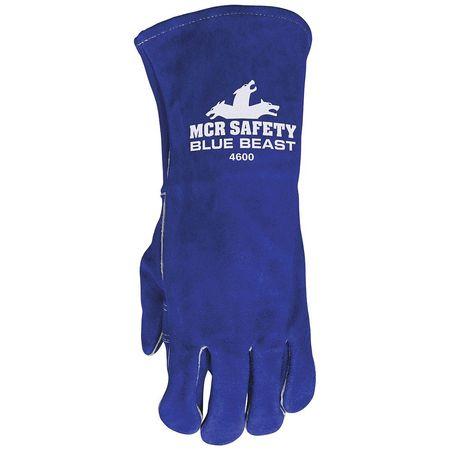 """MCR SAFETY Welding Glove,Stick,13-1/2"""",Left Only 4600LH"""