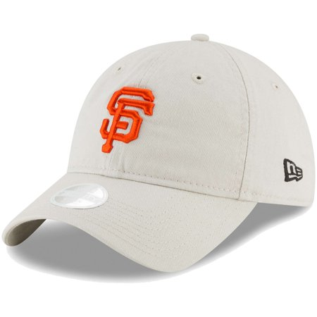 San Francisco Giants Classic Football - San Francisco Giants New Era Women's Core Classic Twill 9TWENTY Adjustable Hat - Cream - OSFA
