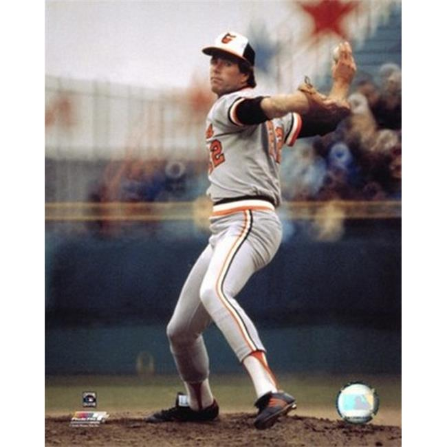 Photofile PFSAAHU23101 Jim Palmer - Pitching Action Sports Photo - 8 x 10 - image 1 de 1