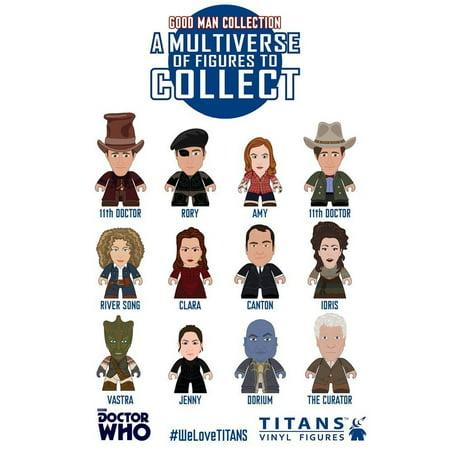 Doctor Who Trading Figure 11th Doctor The Good Man Collection Titans Display 8 cm (20) Merchandise Mini figures - Mini Titan E325
