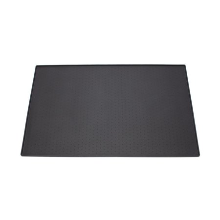 Black Dog Food Mat