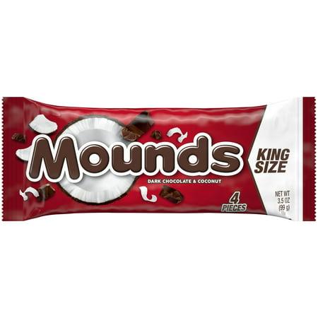Mounds Chocolate Bar (Mounds Candy Bar 3.5 oz. Wrapper )
