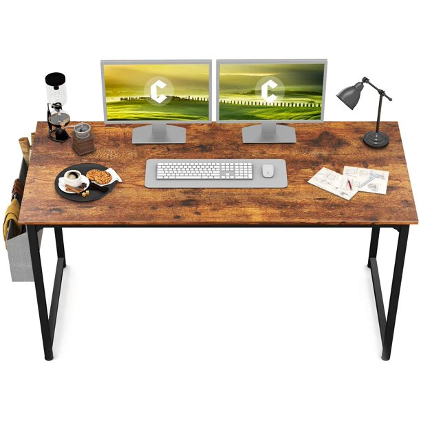 "CubiCubi Study Computer Desk 55"" Home Office Writing Desk"