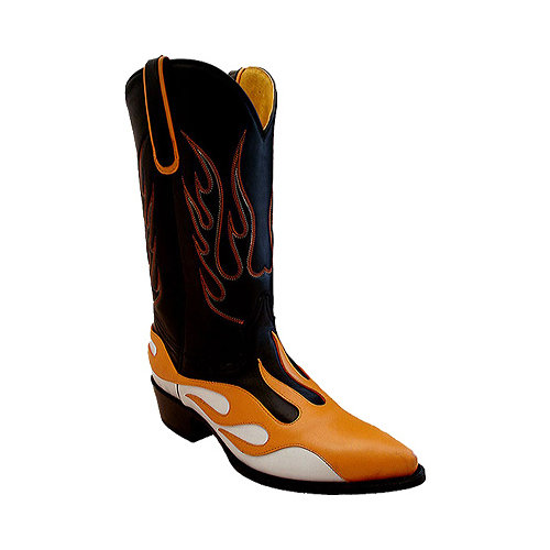 Mens Radical Boot Orange Hot Rod 12W