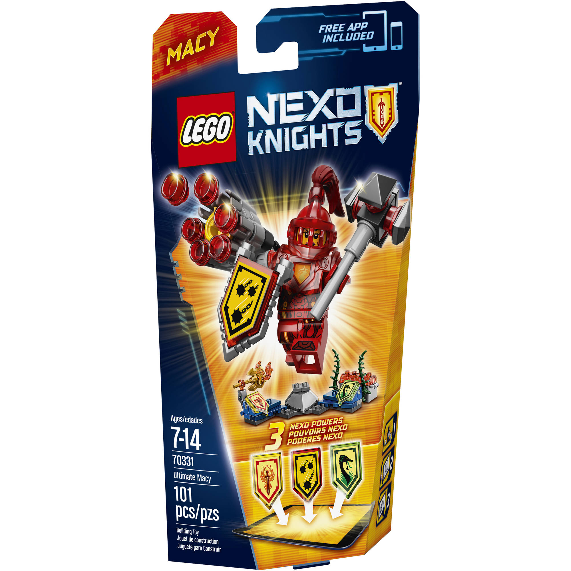 LEGO Nexo Knights PT ULTIMATE Macey 70331