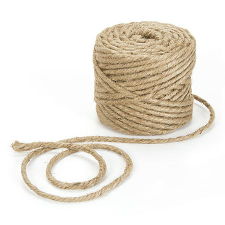 Boucle Jute - Darice 4 Ply Craft Jute Cord, 1 Each