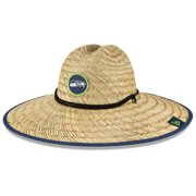Seattle Seahawks New Era 2021 NFL Training Camp Official Straw Lifeguard Hat - Natural - OSFA