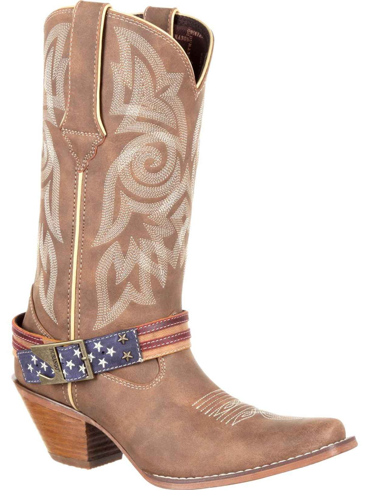 Crush By Durango Womens Flag Accessory Western Boot DRD0208 by Durango