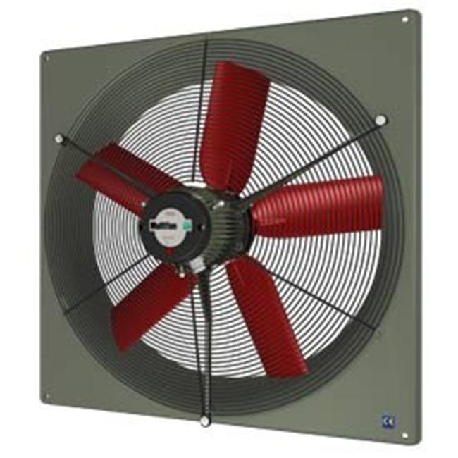 Vostermans Ventilation V2E30K3M71100 12 in. PANEL FAN IND 240V with GUARD HI OUTPUT