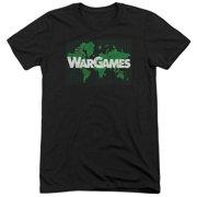 Wargames Game Board Mens Tri-Blend Short Sleeve Shirt