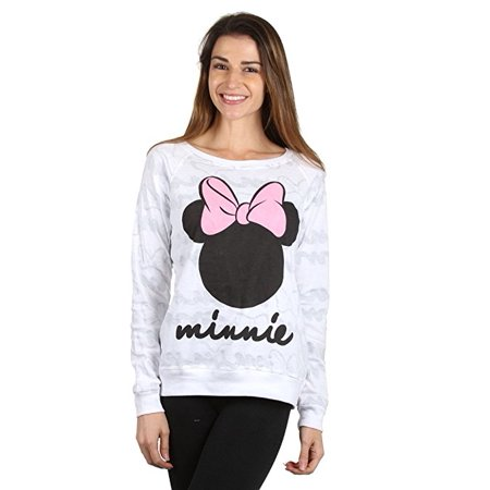 Mickey Minnie Mouse Pull Over Reversible Crew Neck Sweater (MEDIUM)  W68 - Mickey And Minnie Halloween Costume Ideas