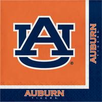 Auburn University Napkins, 20 pk