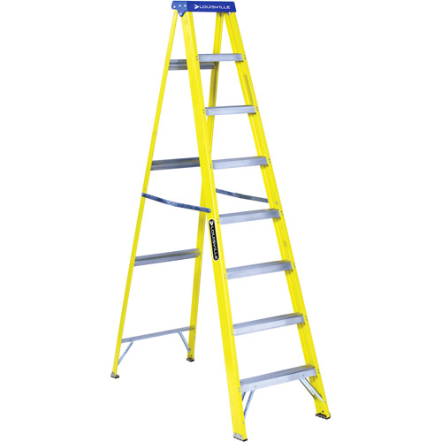 Louisville Ladder 8' Fiberglass Stepladder Type I