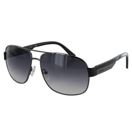 Guess Wire Frame Glasses : Guess Mens GUF122 Wire Rim Fashion Sunglasses - Walmart.com