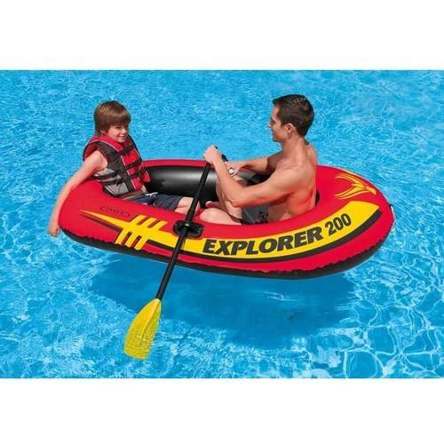 Intex Inflatable Explorer 200 Two-Person Boat with Oars ...