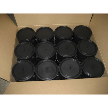 KW Container 1 Gal All Plastic Can with Plastic Lid and Plastic Handle - Paint Containers