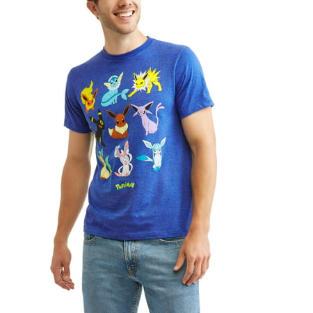 808eb5dc Gaming - Men's Eevee Evolutions Graphic T-Shirt - Walmart.com