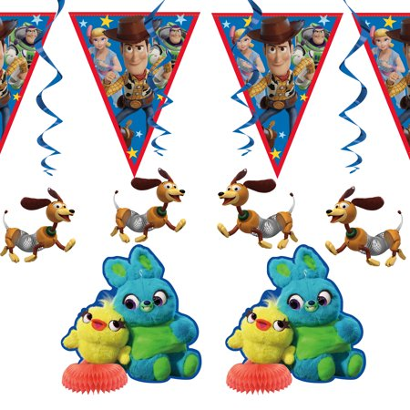 Toy Story Party Decorating Kit, 7pcs](Toy Story Party Supplies Clearance)