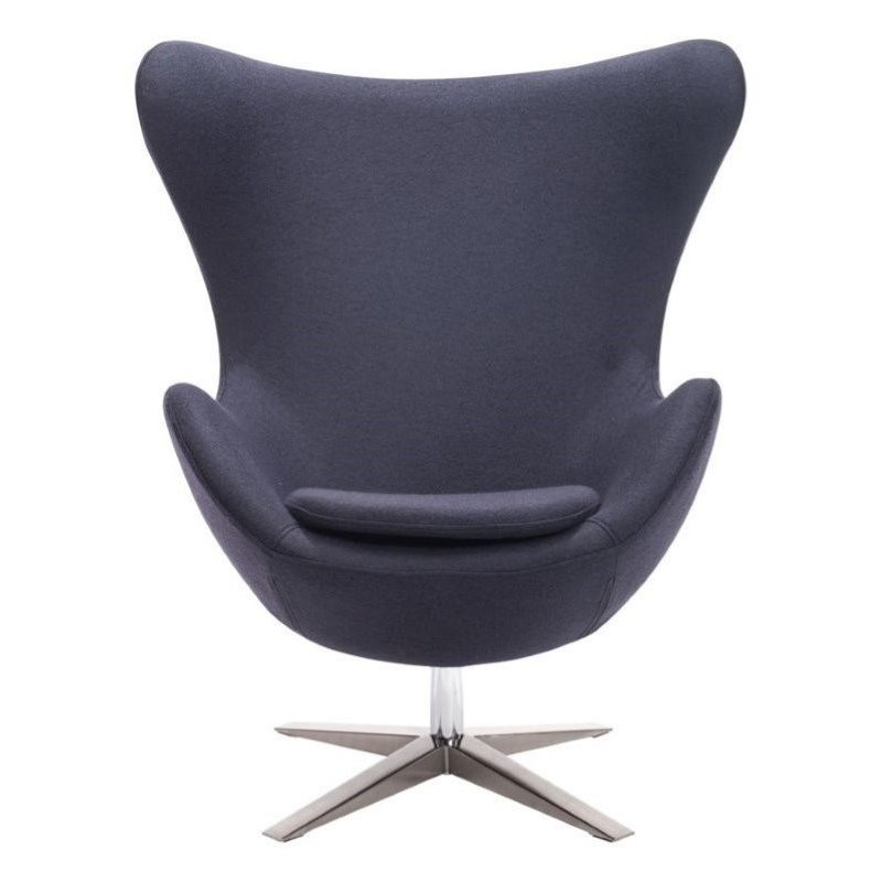Brika Home Armchair in Iron Gray by Brika Home