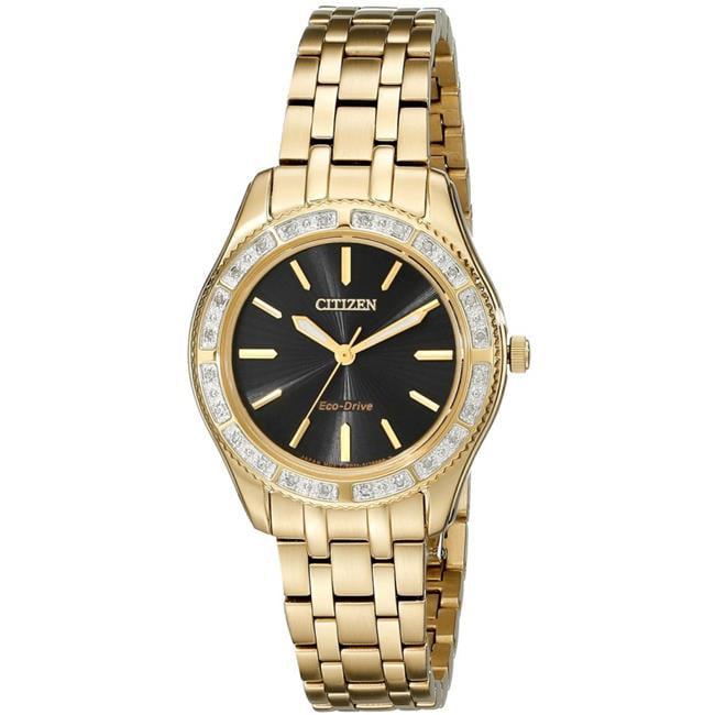 Citizen EM0242-51E Carina Gold-Tone Ladies Watch