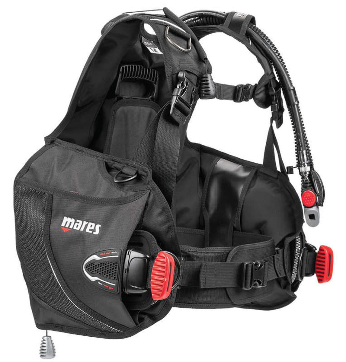 MARES Prime SMU BCD with MRS Plus Weight Pockets