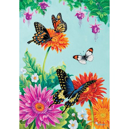 Custom Decor Garden Flag - Butterfly Fuchsia](Cheap Custom Flags)