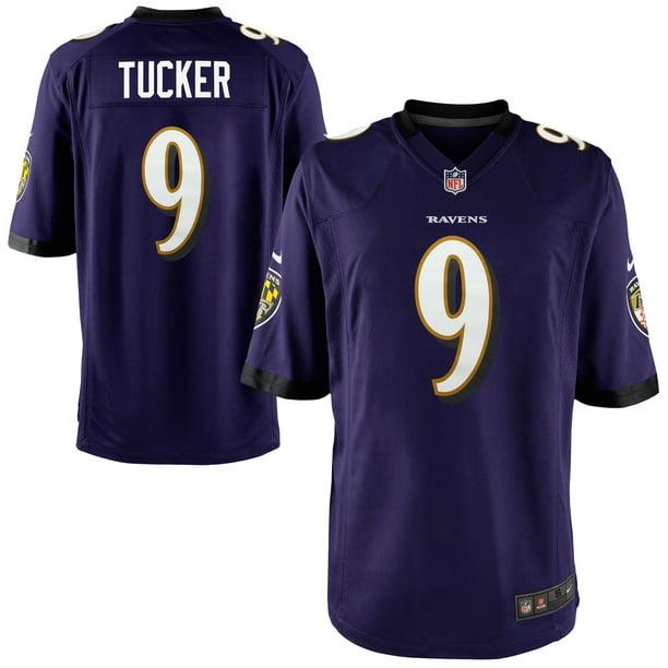 Justin Tucker Baltimore Ravens Nike Game Player Jersey - Purple