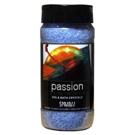 - Spazazz Spa, Hot Tub, and Bath Crystals In Passion Scent