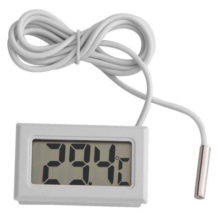 Lcd Digital Temperature Sensor - Lv. life Mini Hygrometer Temperature Humidity Meter Probe Sensor Digital LCD Thermometer, Thermometer Hygrometer, Thermometer for Water Cooling