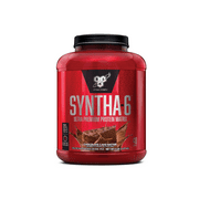 BSN Syntha 6 Whey Protein Powder, Chocolate Cake Batter, 5lb