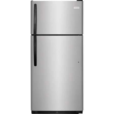 Frigidaire FFTR1814TS 30in Wide 18 Cu. Ft. Top Mount Refrigerator with Reversible