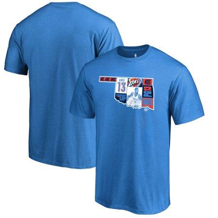 Paul George Oklahoma City Thunder Fanatics Branded Player State T-Shirt - Blue](Party City Oklahoma City)