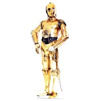 Advanced Graphics 114 C-3PO Life-Size Cardboard Stand-Up