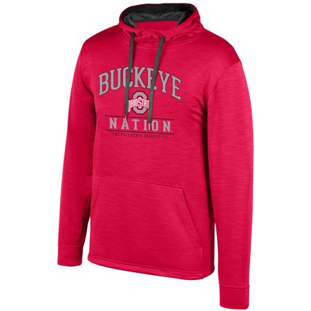 Women's Scarlet Ohio State Buckeyes Squadron Pullover -
