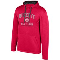 d733fe820 Product Image Women s Scarlet Ohio State Buckeyes Squadron Pullover Hoodie