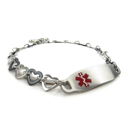 detail bracelet hemophilia id alert custom medical product personal buy
