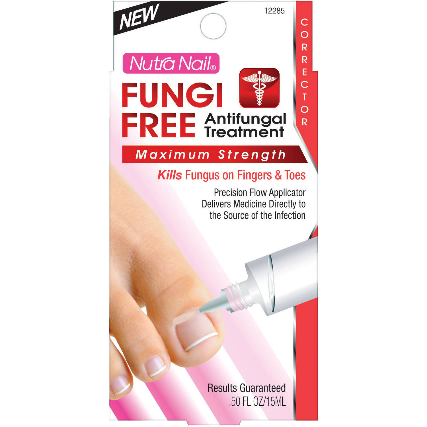 CCA Industries Nutra Nail Antimicrobial Treatment, 1 oz - Walmart.com