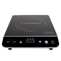 Cosmo  11.5 in. Portable Induction Cooktop in Black with 1-Element Including Rapid Heating