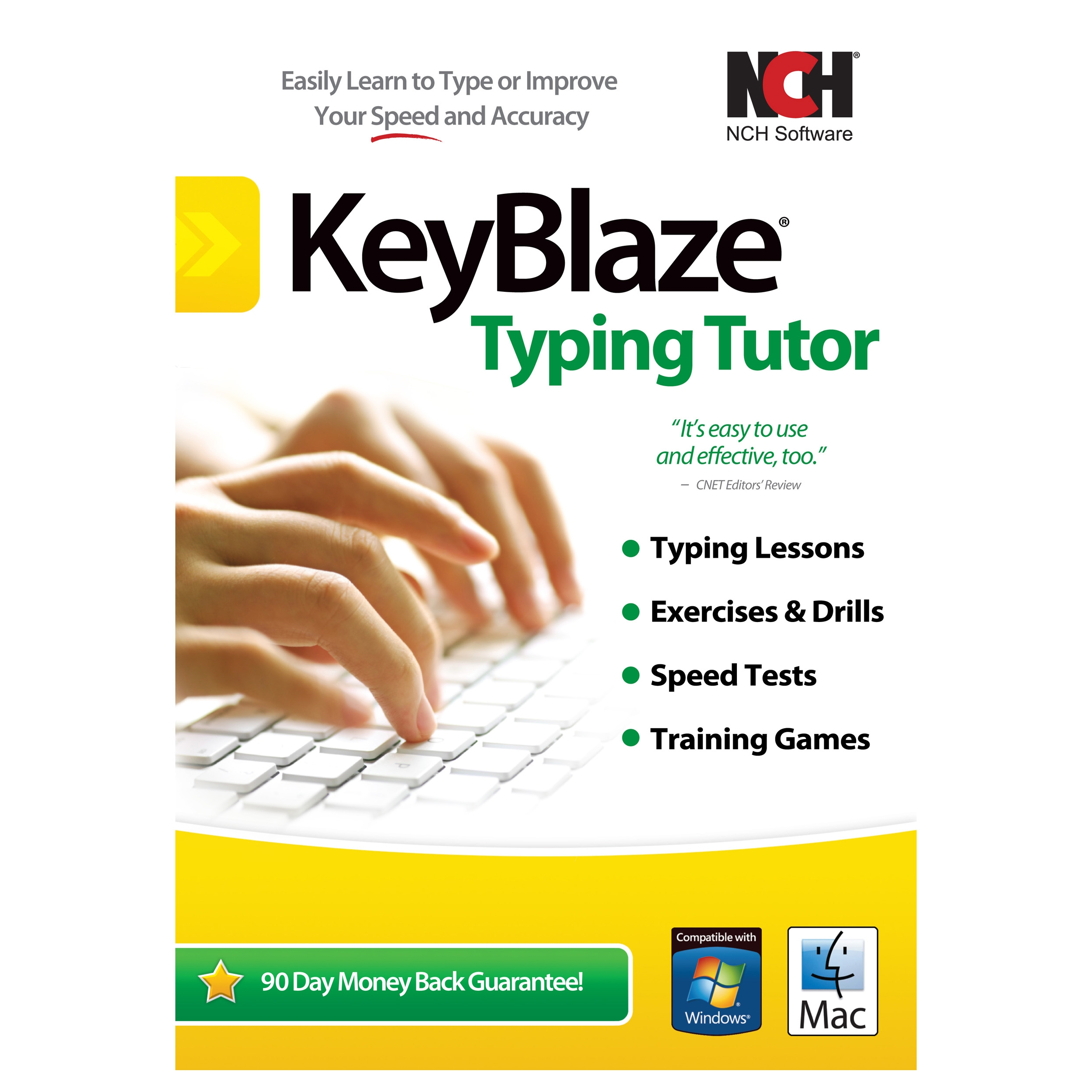 NCH Software KeyBlaze with FastFox Text Expansion Software RET-KB001