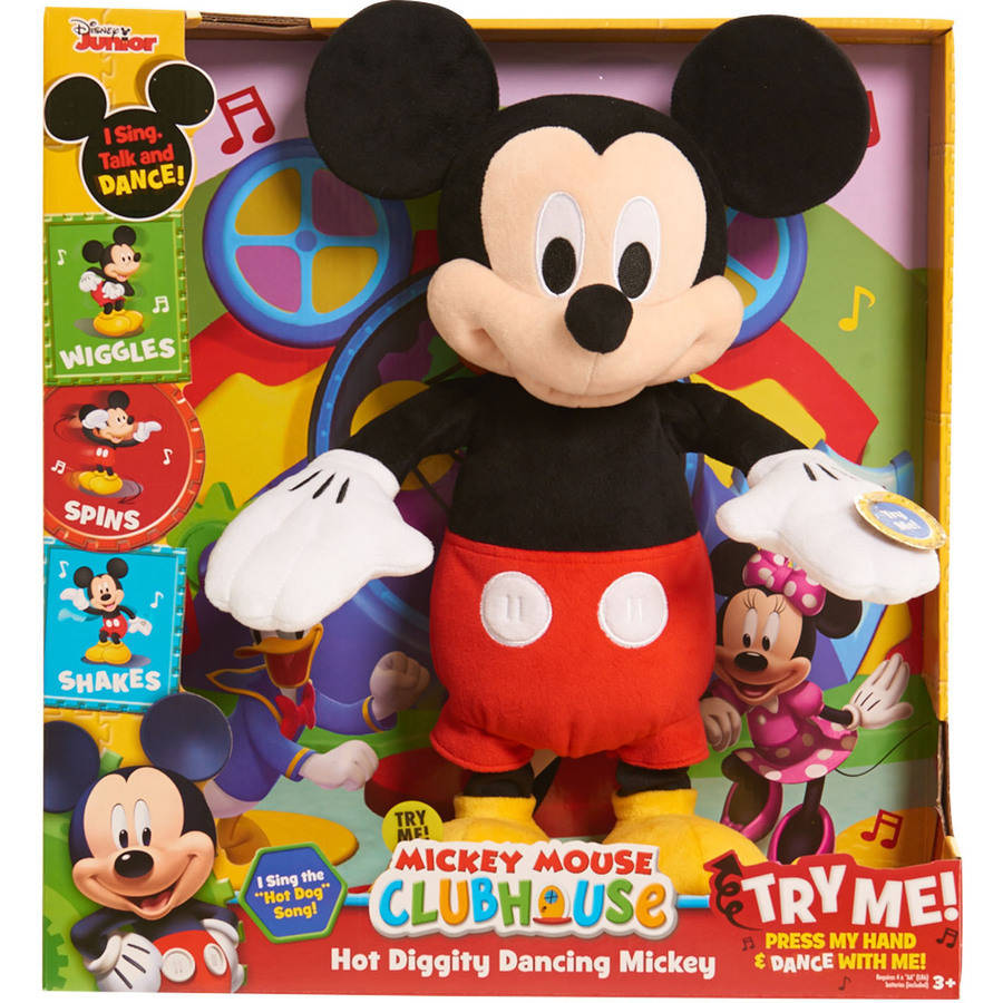 Disney Mickey Mouse Clubhouse Hot Diggity Dancing Mickey by Just Play