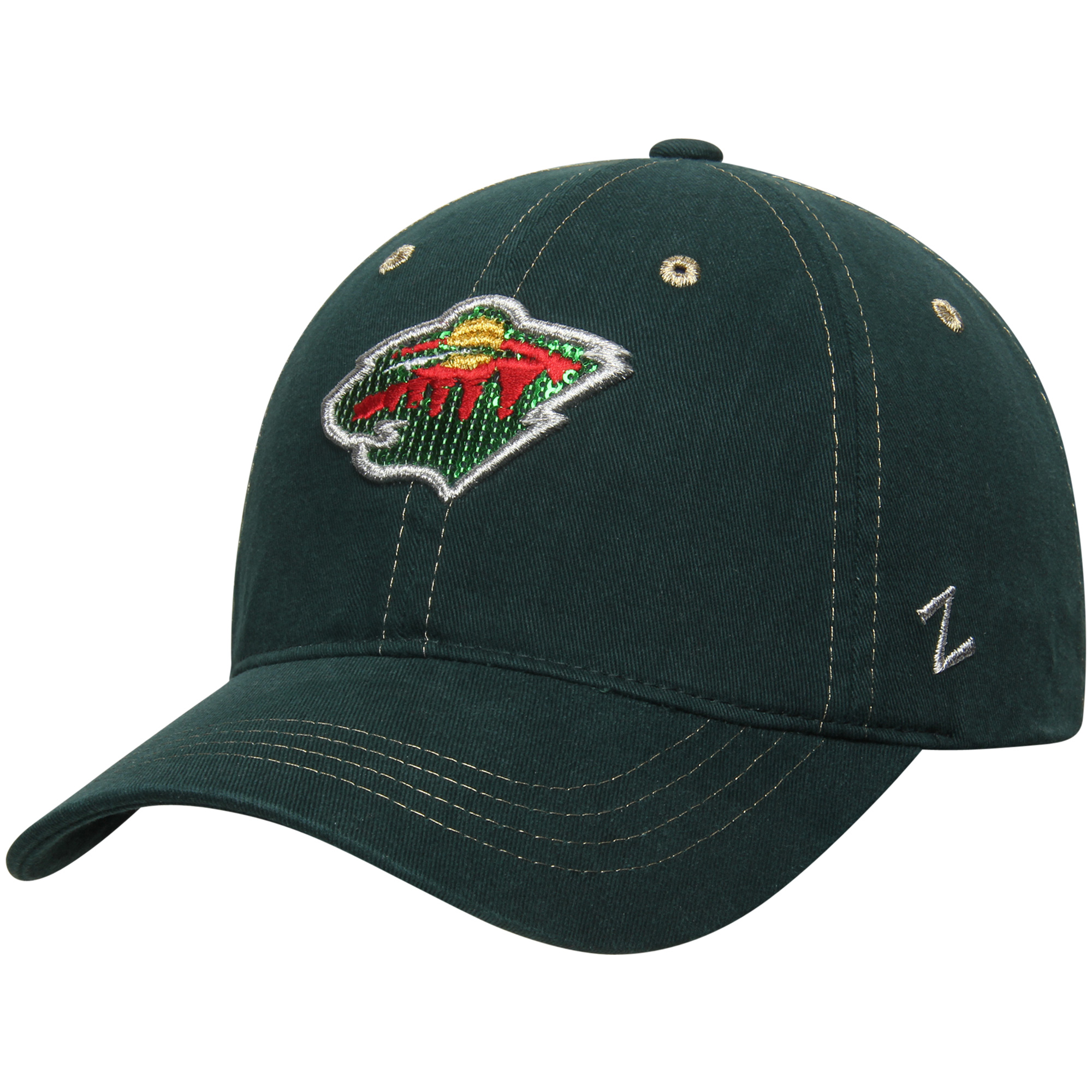 Minnesota Wild Zephyr Women's Relish Adjustable Hat - Green - OSFA