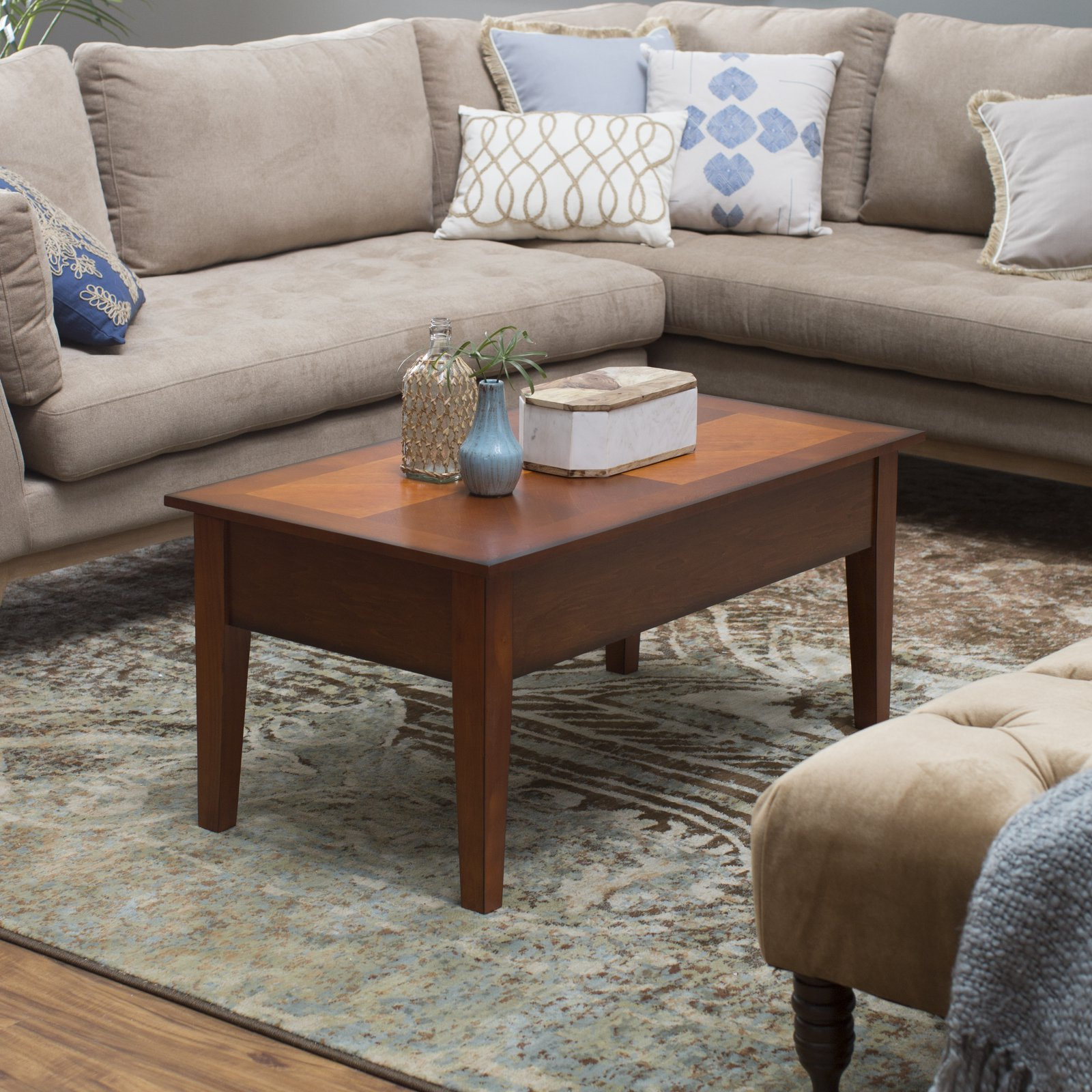 Turner Lift Top Coffee Table - Oak