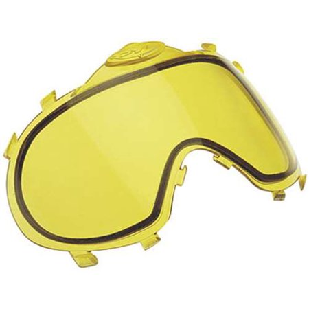 Dye I3 Replacement Thermal Lense For Paintball Mask / Goggles - Yellow