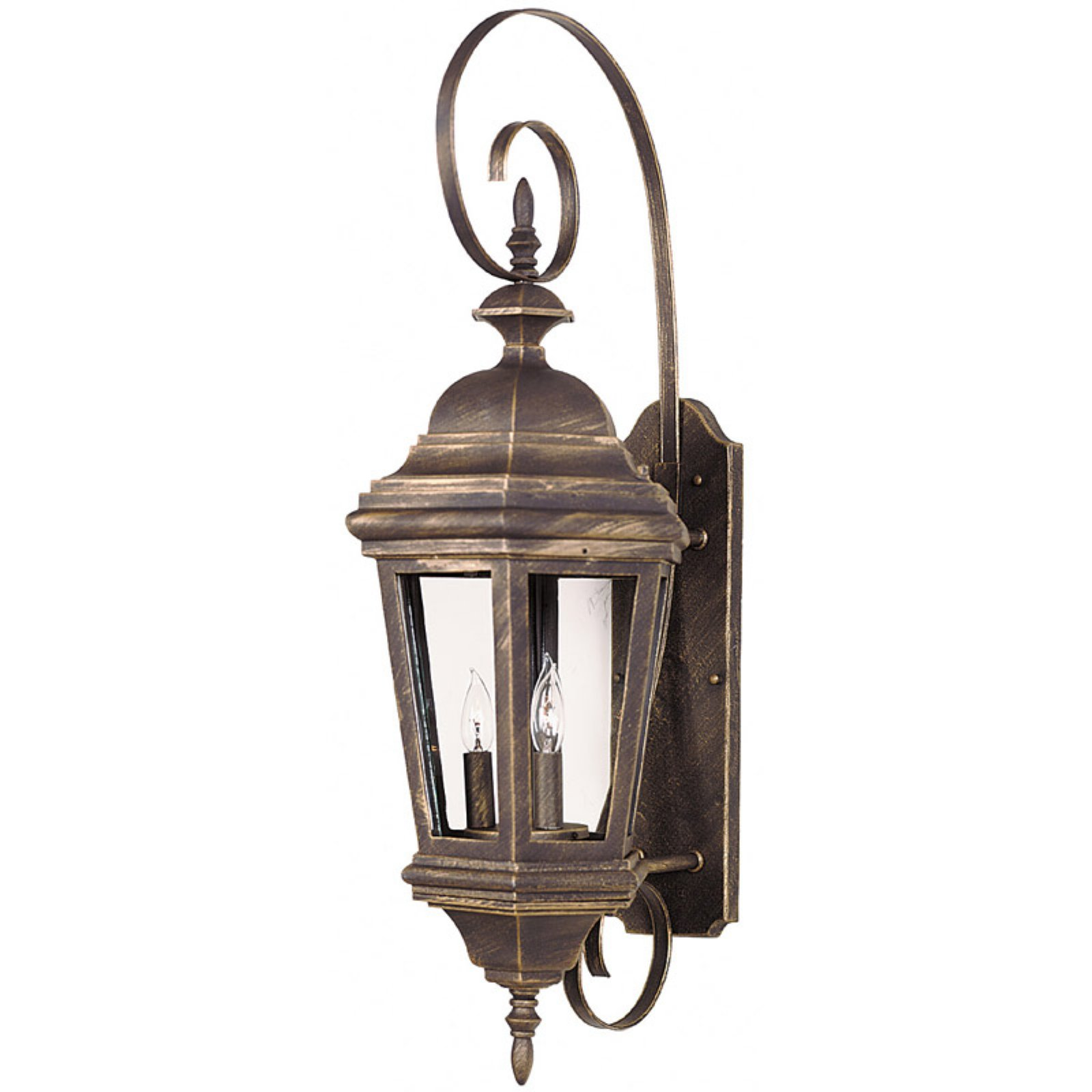 Kenroy Home 16314AP Estate Outdoor Large Wall Lantern - 31H in. Antique Patina Finish